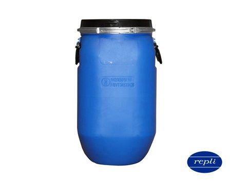 Bombona cilindrica ballesta pe 30l azul homologado d225 1850gr for Bidon 30 litros cierre ballesta